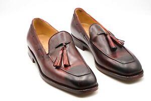 NEW SILVANO LATTANZI Dress Leather Shoes Size Eu 42.5  Uk 8.5 Us 9.5 (LN94)
