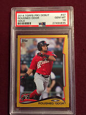 Rougned Odor 2014 Topps Update Pro Debut Gold Rookie Card RC 1/50 PSA 10 POP 1 !