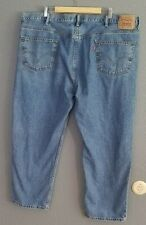 "Levi's 550 Men's Denim Jeans 48x30 Relaxed Fit 48 Big Short 30"" Inseam Blue"