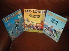LEO LODEN - LOT DES 3 PREMIERS TOMES EN REEDITIONS