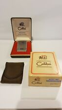 Lighter Colibri molectric 88 quarzo electronic original set box In London 1988