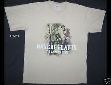 Rascal Flatts Me and My Gang Size Medium Beige T-Shirt