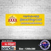 XXXX Gold Queensland Beer Banner - The Mancave Bar Beer Spirits Shed