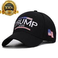 Donald Trump 2020 Cap USA Flag Camouflage Baseball Cap Embroidered Baseball Hat