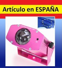 MULTI PROYECTOR luces LASER colores SIGUE MUSICA automatico fiesta discoteca red