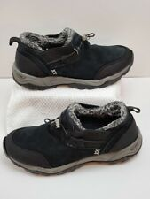 Canyon River Blues CRB Shoes Black Columbus Leather Slip On Winter Women's 9m