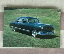 1951 Kaiser Frazer Collectible postcard