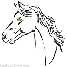 Horse Spirit 10 Machine Embroidery Designs on multi-formatted CD in 8 sizes