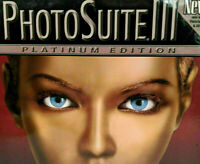 PhotoSuite III (PC, 2000) Big Box New and Sealed Win 95/98 or NT 4.0