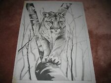 * Tri Chem 8878 Silence In Motion Mountain Lion? In A Tree Picture Trichem