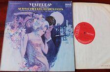 RCA SB 6880 ARTHUR FIEDLER BOSTON POPS YESTERDAY LP (1973) NM- ENGLAND