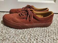 Vans California Maroon Suede Shoes Men's Size 8