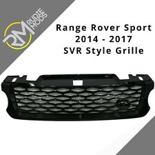 Range Rover Sport L494 2014 on Gloss Black SVR style diamond mesh front grille