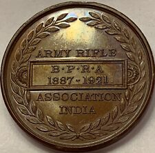 India Army National Association Medal NIRA BPRA delightfully toned with Tiger