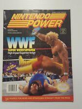 Nintendo Power Magazine Vol.35 WWF Super Wrestlemania Hulk Hogan