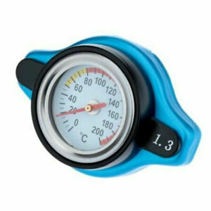Small Head 1.3Bar Thermo Thermostatic Radiator Cap Cover Water Temperature Gauge