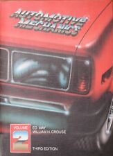Automotive Mechanics: Vol 2: Textbook by Ed May, CROUSE (Paperback, 1983)