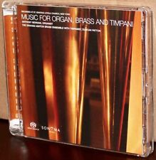 SONOMA SACD SAC-001: Music for Organ, Brass and Timpani - A. Newman, TAS 2004 HK