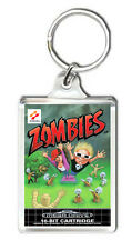 ZOMBIES ATE MY NEIGHBORS MEGA DRIVE KEYRING LLAVERO