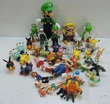 World of Nintendo Pokemon Super Mario Luigi Yoshi Toy Figure Figurine LOT
