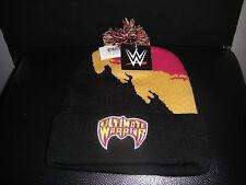 WWE WWF Ultimate Warrior Winter stocking  Cap Hat Beanie With Pom Wrestling NWT