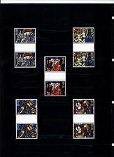 Großbritannien,Mi.nrn.1421-1425,Weihn.1992,Kirchenfenster,postfrisch Zwischenst!