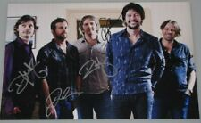 "POWDERFINGER x 5 Hand Signed 12""x18"" Photo From Australia 2010 'Sunsets' Tour"