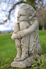 Fairy Stone Garden Ornament Puk Wood Sprite (Ivy)