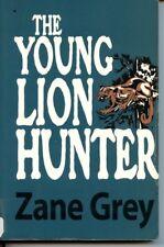Young Lion Hunter by Zane Grey PB Large Print Western Utah Rangers Mountains