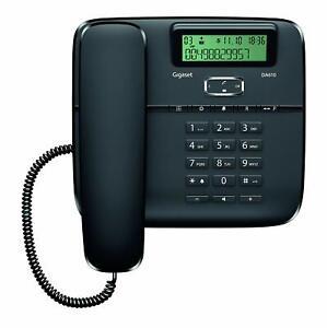Telefono estandar c/pantalla Id.llam. . Manos Libres Gigaset DA610 NEGRO-OUTLET-