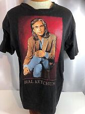 American Country Music Artist Hal Ketchum 1995 Tour T Shirt Black Mens Xl