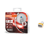 OSRAM 12V Night Breaker Laser +150% mehr Helligkeit + 2-Fach USB-Adapter