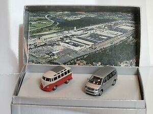 Wiking - 50 Jahre VW Werk Hannover - VW T1 Samba T5 Multi - Limited - OVP