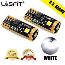 New listing Lasfit W5W 168 194 2825 T10 Led License Plate Tag Light Bulb Bright White 6000K