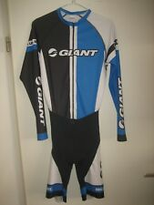 Giant WORN by RIDER jersey shirt cycling maillot trikot skinsuit LS size M