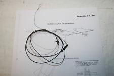 Skalenseil für Graetz Musica 4R/216 - mit Plan