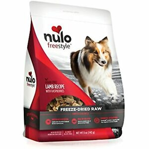Nulo Freeze Dried Raw Dog Food For All Ages & Breeds: Natural Grain Free Formula