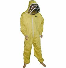 Pro's Choice Best Beekeeping Suit,XL Size Yellow Color with Free GlovesThread(R)