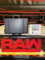 WWE Wrestling Figure Accessory Briefcase with Contract