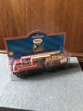 RARE Retired Thomas Wooden Railway Gold Prospector's Car 2001 New In Box!