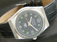 VINTAGE CITIZEN AUTOMATIC 8200A JAPAN MEN'S DATE WATCH 336j-a169928-5