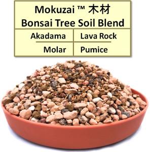 1-3L Bonsai Tree Soil Specialist Potting Mix: Akadama, Pumice, Moler & Lava Rock