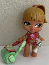 Bratz Babyz Girlz Fianna Doll Blonde Hair Green Eyes Original Clothes Purse