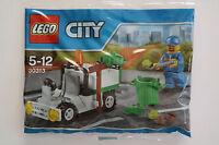 Lego City 30313 Müllwagen Polybag NEU