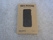 $50.00 NEW TRUE RELIGION JEANS Bobby Snap-On iPhone 5 5S Leather Case AUT00001