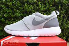 NIKE ROSHE ONE GS SZ 5 Y WOLF GREY COOL GREY WHITE 599728 028