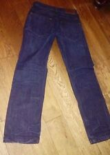 AX ARMANI EXCHANGE BLUE JEANS STRAIGHT LEG W28 REGULAR LENGTH 30 IN VGC
