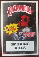 Backwoods cigars Sweet Aromatic Deadpool Vinyl Decal Sticker