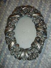 Bilderrahmen Zara Home Silber Shabby Glas Oval