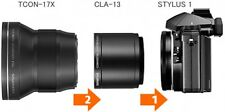 F/S TCON-17X + CLA-13 Olympus tele converter for STYLUS 1  Import From Japan